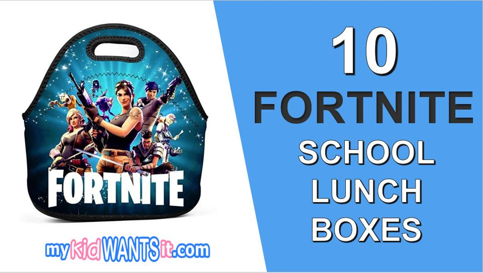 fortnite lunch boxes