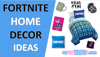 Where to Buy Fortnite Home Decor – Your Gift Guide to Bedroom Decor, Sheets, Blankets, Pillows, Wall Art and More!
