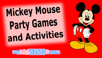 Mickey Mouse Party Games and Activities – Entertain the Kids at the Birthday Party!