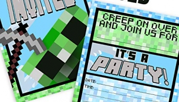 Minecraft Party Ideas! Plan the Ultimate Birthday Block Party!
