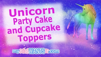 35+ Unicorn Party Cake and Cupcake Toppers – Decorate Your Birthday Cake with One of These!