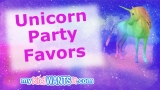 35+ Unicorn Party Favors – Guests Will Love These Gift Bags and Treats