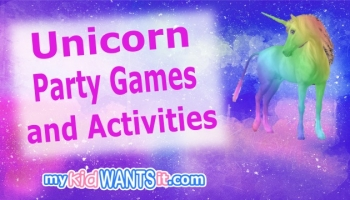 Unicorn Party Games and Activities – Entertain the Kids at the Birthday Party!